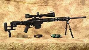 Picture Rifle Sniper rifle Ruger caliber 6.5 Army