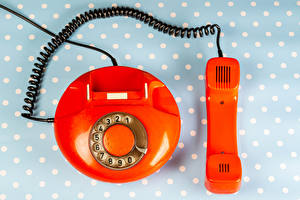 Desktop wallpapers Telephone Red Old