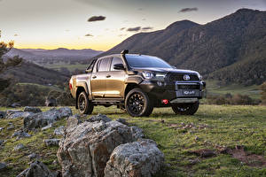 Picture Toyota Pickup Metallic Hilux Rugged X Double Cab, AU-spec, 2020