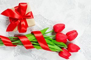Фото Тюльпаны Подарки