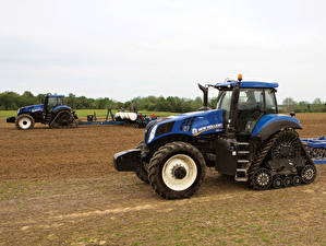 Pictures Agricultural machinery Tractors 2015-20 New Holland T8.435 SmartTrax