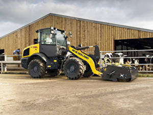 Pictures Agricultural machinery Tractors 2015-20 New Holland W70C HS