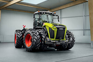 Images Agricultural machinery Tractors Claas Xerion 5000, 2014