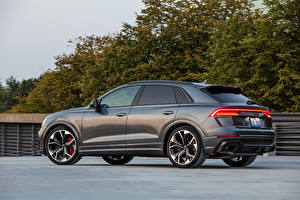 Images Audi Grey Metallic Side RS Q8, North America, 2020