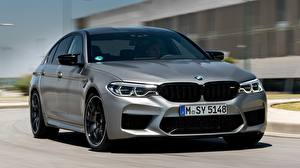 Images BMW Front Gray 2018 M5 V8 F90 M5 Competition Cars