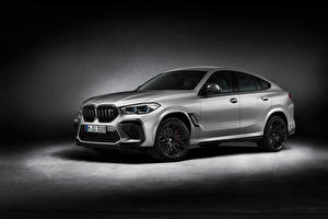 Papel de Parede Desktop BMW Prata cor X6 M Competition 'First Edition', (F96), 2020