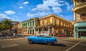Image Cuba Houses Street Havana Cities