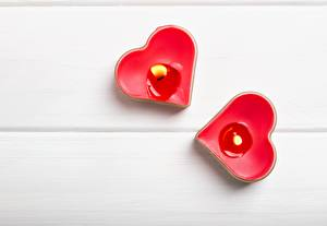Pictures Flame Candles Heart
