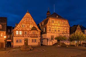 Fonds d'écran Allemagne Bâtiment Place de la ville Kirchberg