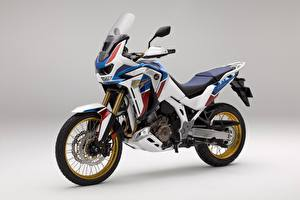 Pictures Honda - Motorcycles Gray background CRF 1000 D AFRICA TWIN, 2020