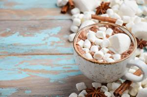 Wallpapers Cocoa Marshmallow Mug Food