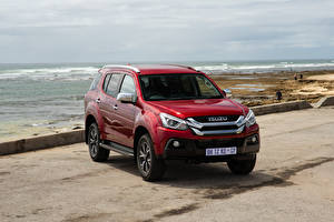 Image Isuzu SUV Red Metallic MU-X, ZA-spec, 2020 Cars