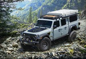Picture Jeep SUV Gray 2020 Gladiator Farout Concept