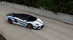 Обои Lamborghini Тюнинг Aventador, Chicago Motor Cars Автомобили картинки