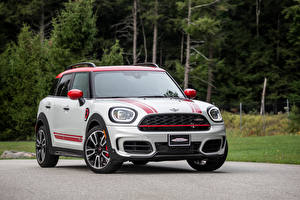 Wallpaper Mini Front John Cooper Works Countryman, (F60), 2020