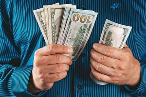 Fondos de escritorio Dinero Billete Mano