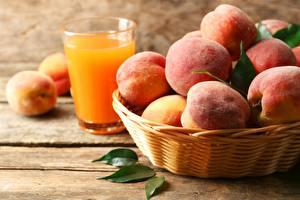 Pictures Peaches Juice