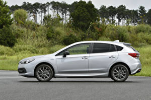 Pictures Subaru Metallic Side Silver color Impreza Sport e-Boxer, JP-spec, 2020 Cars