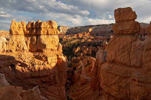Wallpapers USA Park Cliff Canyons Bryce Canyon National Park Nature