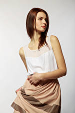 Wallpaper Viacheslav Krivonos Modelling Brown haired Alona female