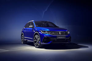 Pictures Volkswagen Light Blue 2020 Tiguan R Worldwide Cars