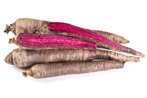 Bilder Rote Bete Weißer hintergrund Lebensmittel