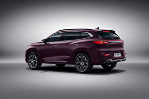 Desktop wallpapers Chery Crossover Metallic Chinese Exeed TXL, 2019 Cars