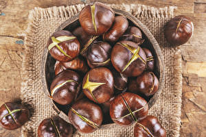 Wallpapers Chestnut Many Closeup Nature