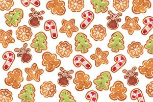 Images New year Texture Cookies
