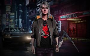 Fotos Cyberpunk 2077 Fanart Jacke Ciri