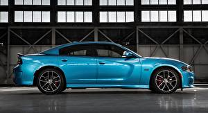 Pictures Dodge Side Metallic Light Blue Charger, R/T Scat Pack, 2015 automobile