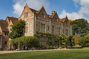 Fotos England Eigenheim Design Rasen National Trust - Greys Court Oxfordshire Städte