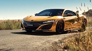 Fonds d'écran Honda Or couleur NSX 50 Years in Australia 2019 Voitures