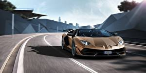 Images Lamborghini Motion Roadster Aventador SVJ automobile
