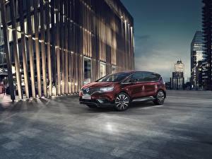 Fonds d'écran Renault MPV Rouge foncé 2019 Espace Voitures