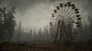 Bilder STALKER 2 Tschornobyl Riesenrad Spiele