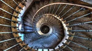 Hintergrundbilder Treppen Von oben Alt