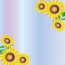 Fotos Sonnenblumen Vorlage Grußkarte