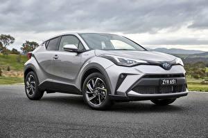 Papel de Parede Desktop Toyota Automóvel híbrido elétrico Cinza 2019 C-HR Koba Hybrid Carros