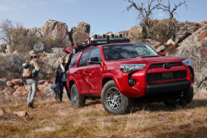 Pictures Toyota Sport utility vehicle Red Metallic 2020 4Runner Venture Edition auto