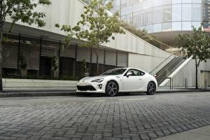Fondos de escritorio Toyota Blanco 2020 86 TRD el carro