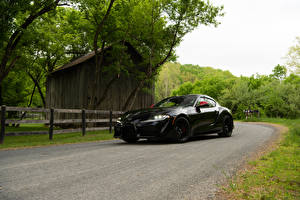 Pictures Toyota Black Metallic 2020 GR Supra Launch Edition automobile