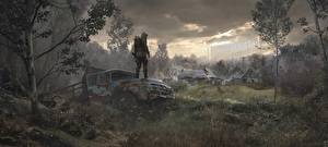 Pictures Trucks STALKER 2 Chernobyl Grass vdeo game