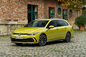 Pictures Volkswagen Estate car Metallic Golf 2.0 TDI R-Line Variant, 2020 automobile