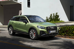 Images Audi Crossover Green Metallic SQ2, 2020 automobile