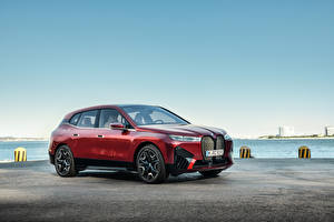 Pictures BMW CUV Red Metallic iX Sport, Worldwide, (i20), 2021 Cars