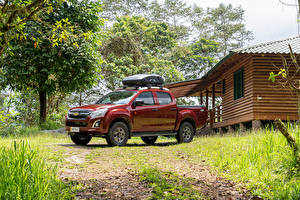 Images Chevrolet Pickup Red Metallic D-Max 'Hi-Ride', 2020 automobile
