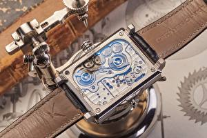 Desktop wallpapers Clock Watch Closeup Mechanism konstantin chaykin