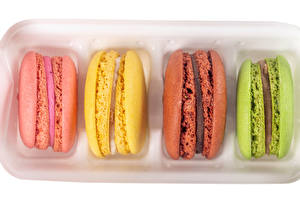 Picture Closeup French macarons Multicolor