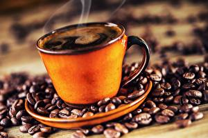 Wallpapers Coffee Cup Vapor Grain Food pictures images